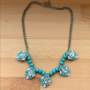 Turquoise Colored Statement Necklace